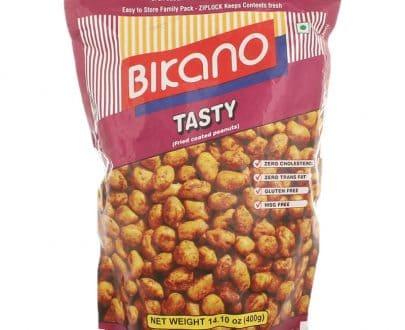 Bikano Tasty Fried Coated Peanuts (1kg)