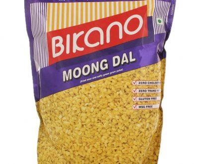 Bicano Moong Dal Crunchy Green Gram Namkeen 1Kg .